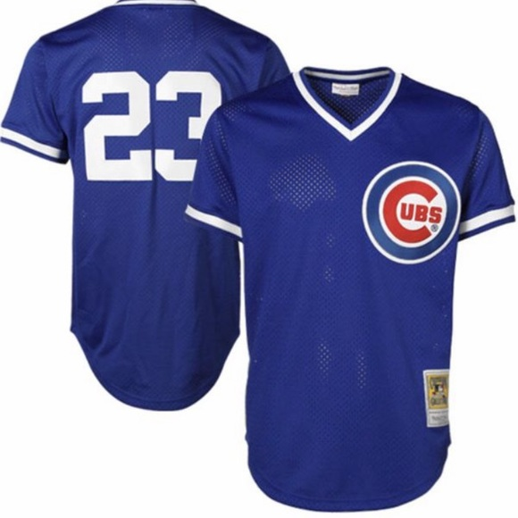 new concept 7dbfb 466f3 MLB Mitchell & Ness Ryne Sandberg Cubs Jersey NWT